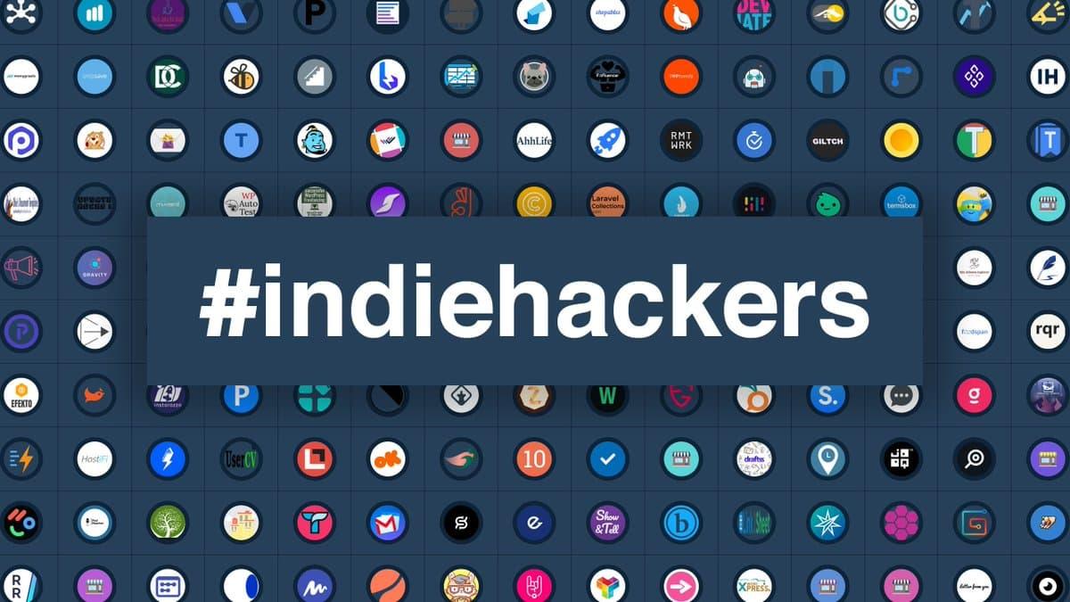 indie hackers banner